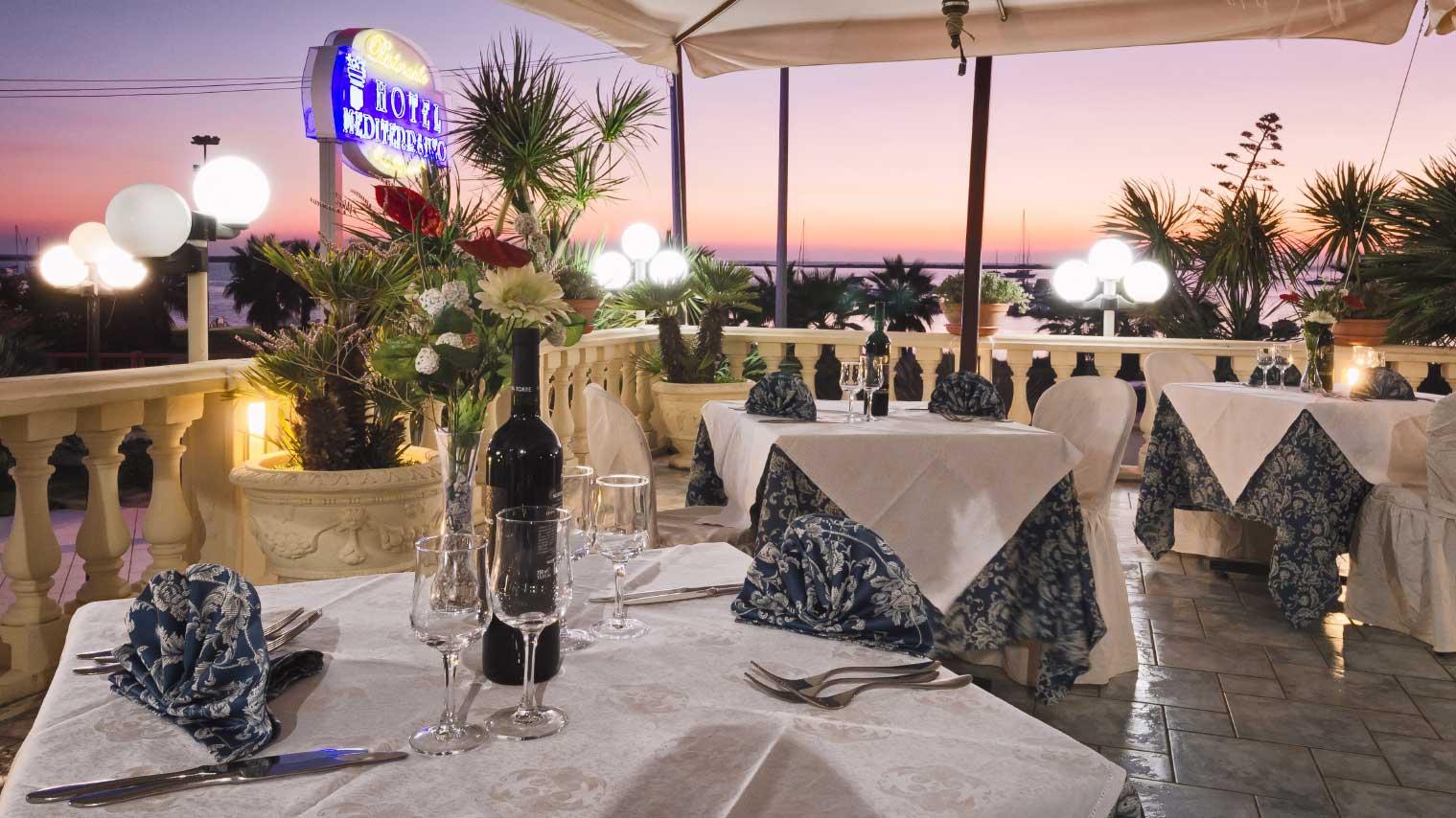 ristorante hotel mediterraneo rh hotelmediterraneo org